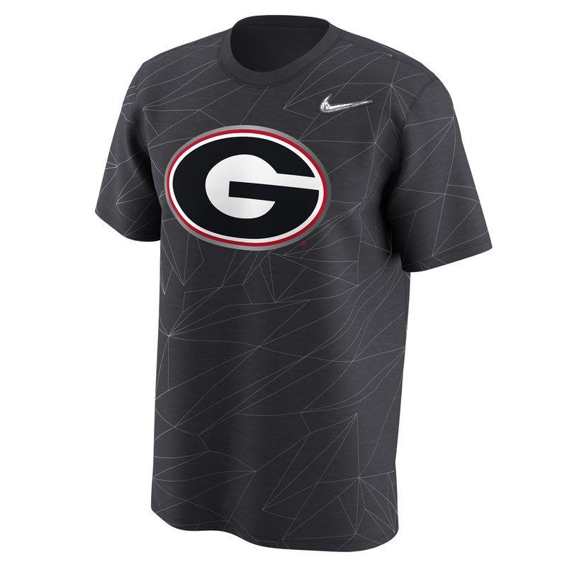3cf3b9fc Men's Nike Anthracite Georgia Bulldogs 2017 College Football Playoff Bound  Team Issue Legend T-Shirt