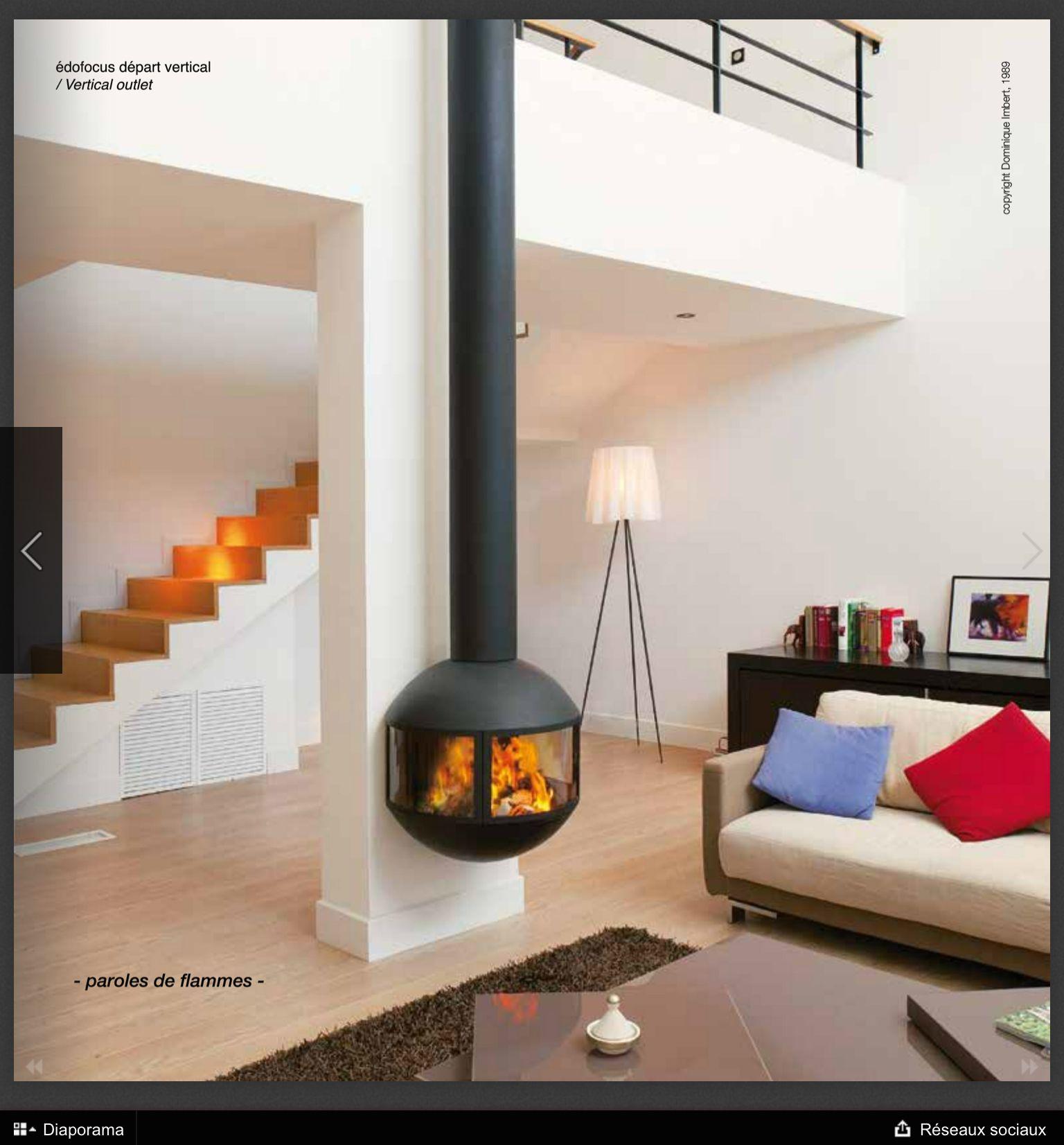 Epingle Par Cathie Herrmann Sur Cheminee Poele Cheminee Design