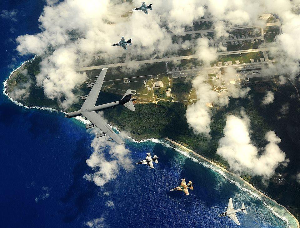 Air Force B-52 Crashes at Guam Base - NBC News