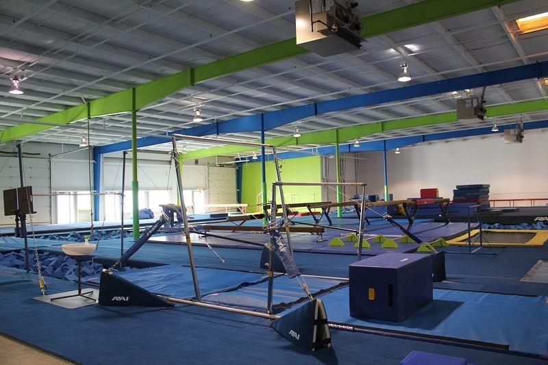 gymnastics facility Proyectos