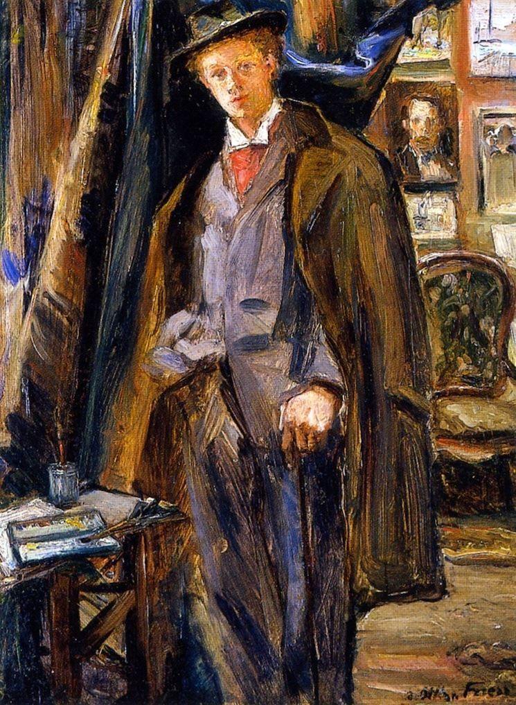 Dufy in the Studio, Othon Friesz, 1900