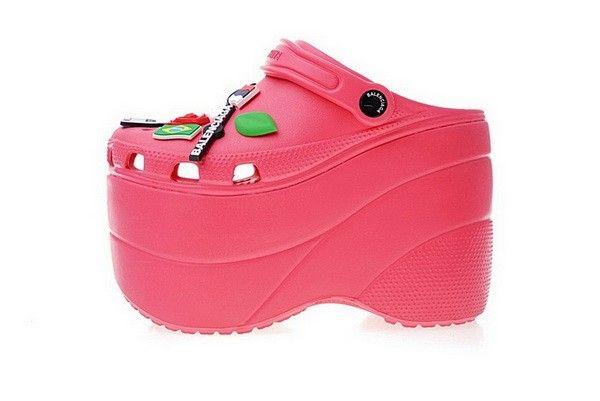 41e5e4d8372e Womens Foam Platform Sandals Rose Bonbon 520669W1GH05623