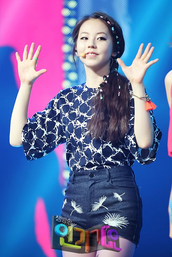sohee of the wonder girls