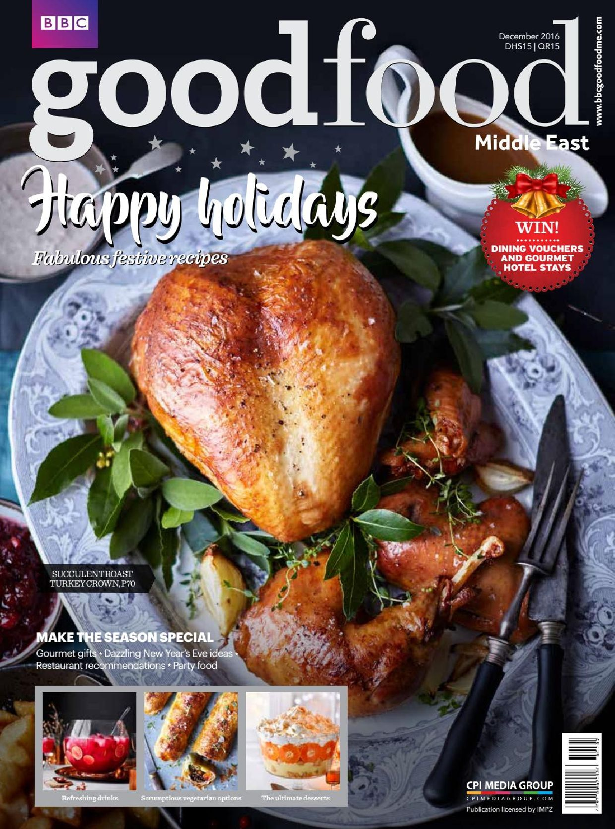 Bbc good food middle east 12 december 2016 food recipes magazine bbc good food middle east 12 december 2016 forumfinder Gallery