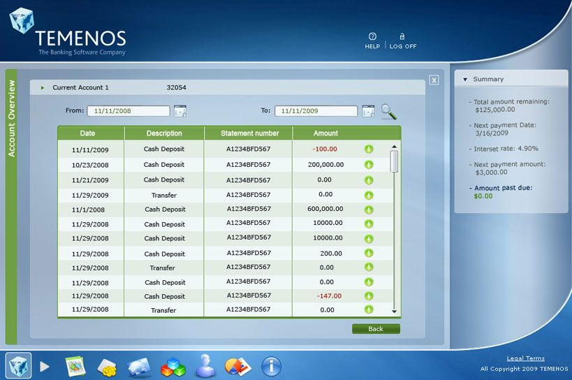 Temenos Application Adobe Photoshop Ms Experssion Blend Xaml Banking Software Payment Date Application