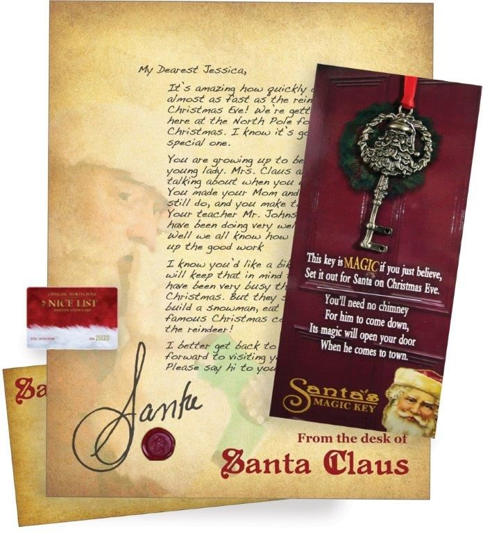 Santa Sent Me A Letter  Special Keys