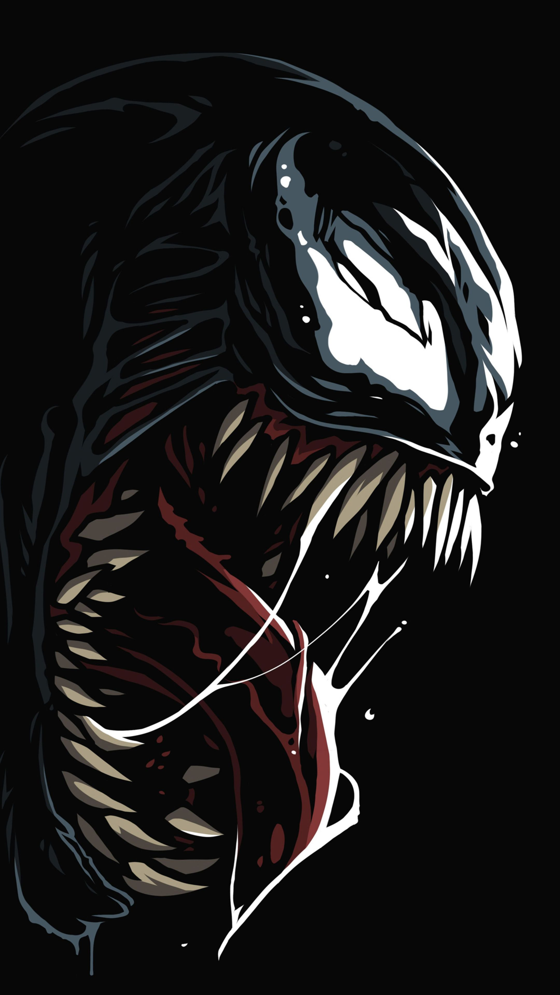 Venom Amoled 4k In 2160x3840 Resolution Deadpool Wallpaper Hd Anime Wallpapers Marvel Wallpaper Hd