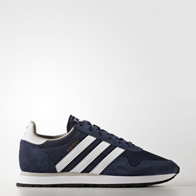 adidas - Chaussure Haven Collegiate Navy/Footwear White/Clear Granite