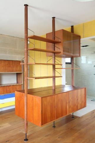 Poul Cadovius Royal Wall Unit Wall Unit Mid Century Modern House Boho Interior Design