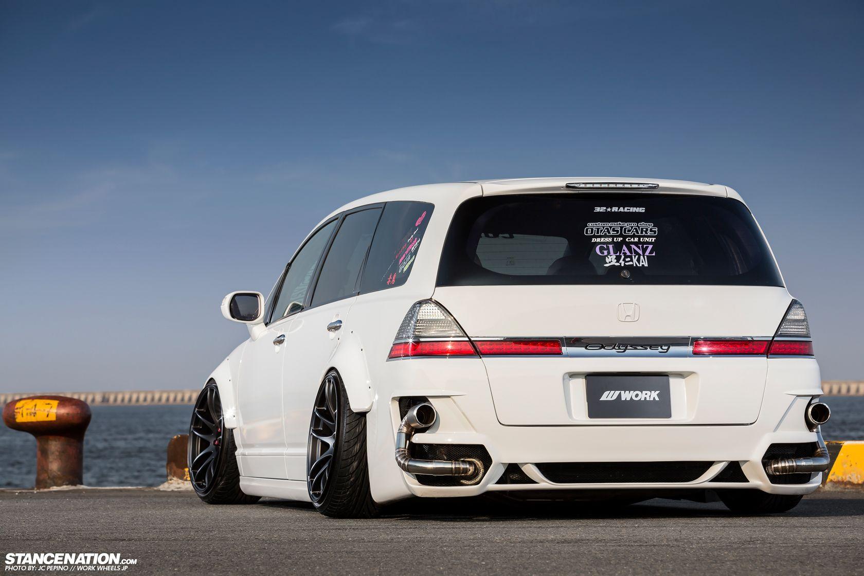 A Different Approach // OTAS CARS RB1 Odyssey | JDM Cars | Honda cars, Honda, Honda van