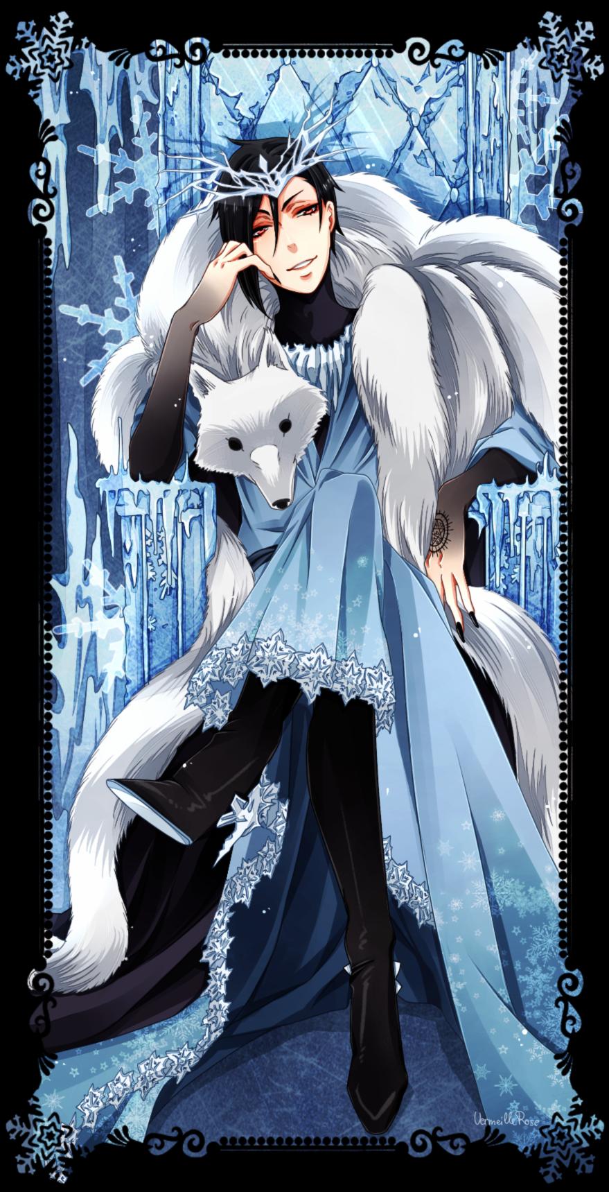 The Snow King by VermeilleRose Черный дворецкий аниме