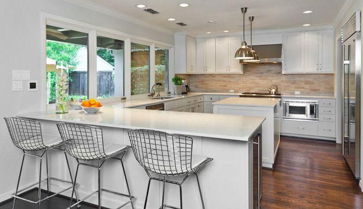 Best Kitchens With Peninsulas Fridge Kitchen Peninsula 400 x 300