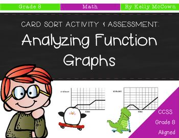 Analyzing Function Graphs Formative Assessment Sorting