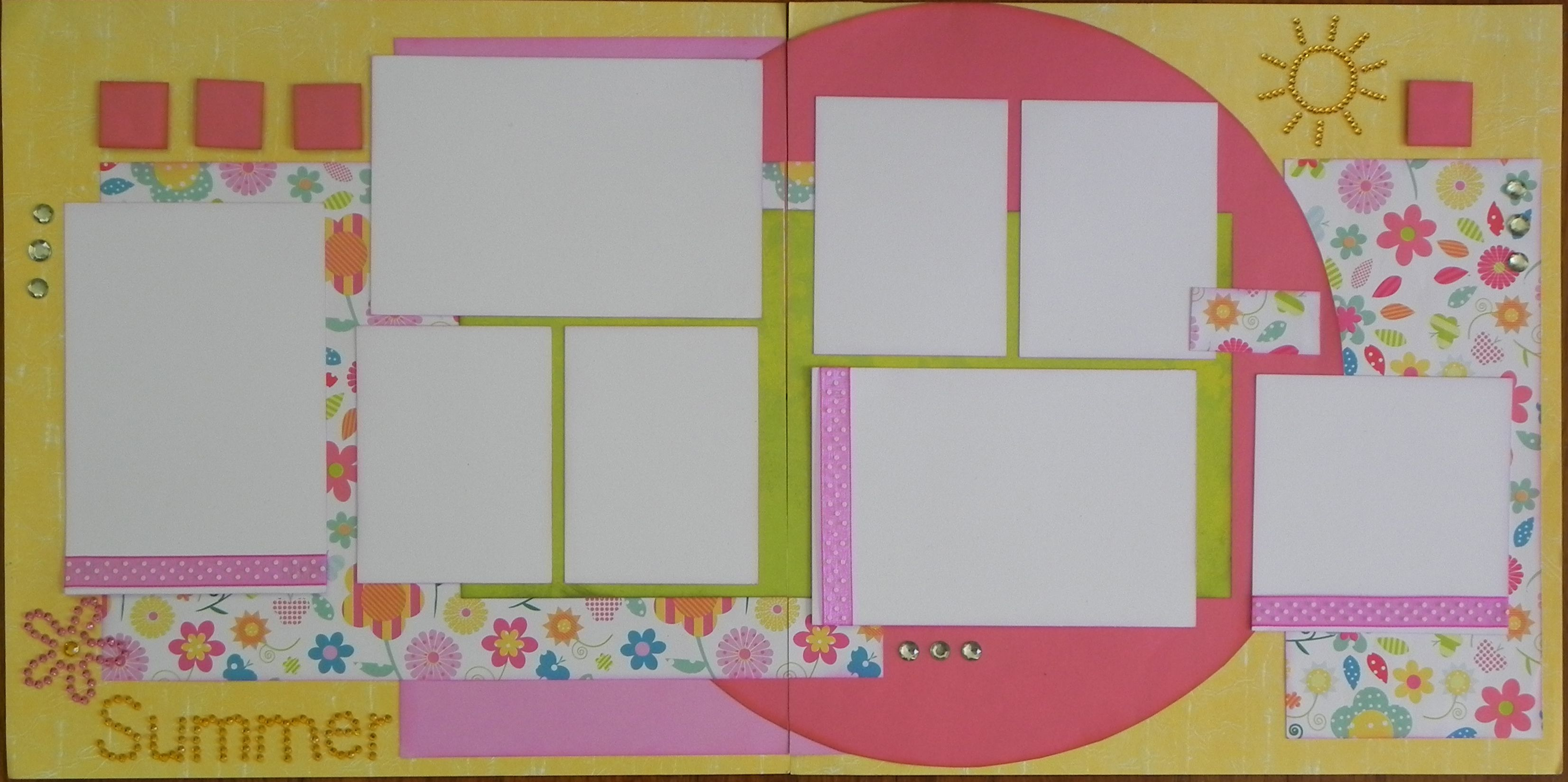 Premier Scrapbook Designs: March 2013 Scrapbook Layout and Card Kits ...