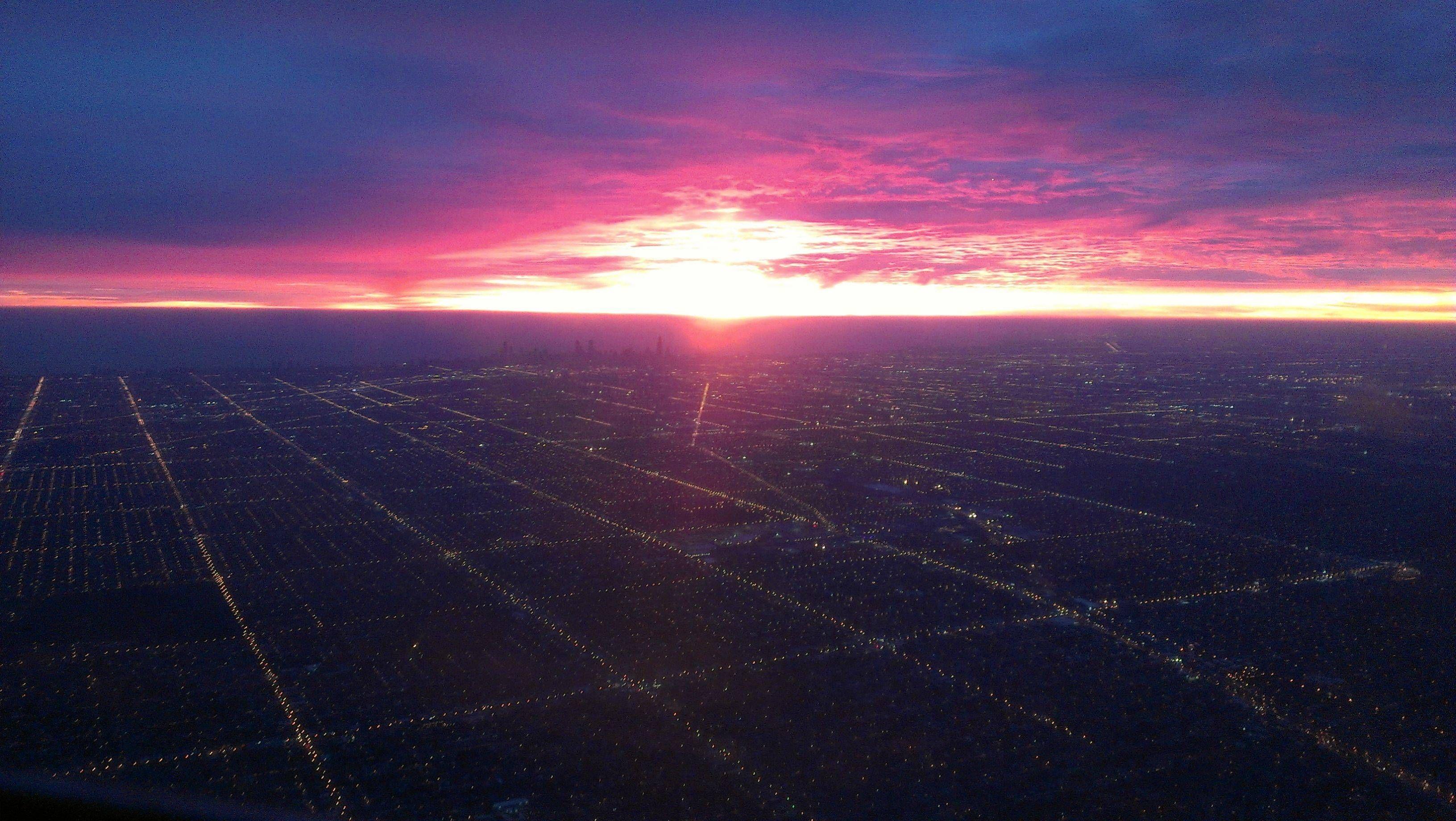 Cityscape Cityscape, Airplane view, Scape