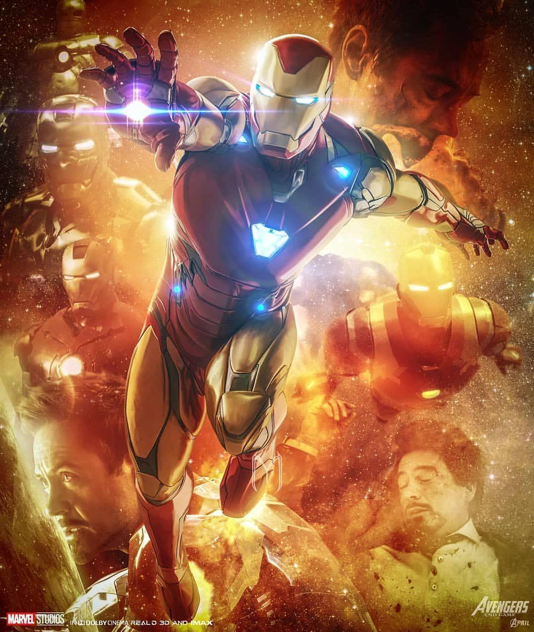 I Am Iron Man Mark 85 Armor Iphone Wallpaper Iron Man Mark 85 Iron Man Iron Man Art