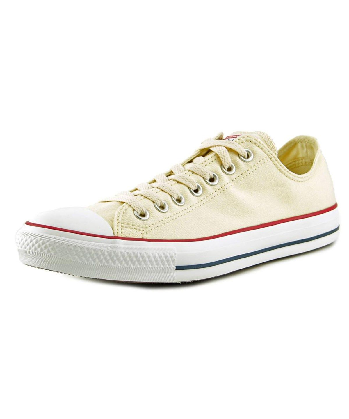000520dd1a61 CONVERSE CONVERSE CHUCK TAYLOR ALL STAR CORE OX MEN ROUND TOE CANVAS IVORY  SNEAKERS .  converse  shoes  sneakers