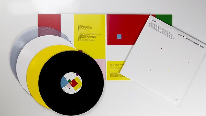 The 1975 A Brief Inquiry Into Online Relationships Standard Coloured Vinyl In 2020 Online Relationship The 1975 Relationship
