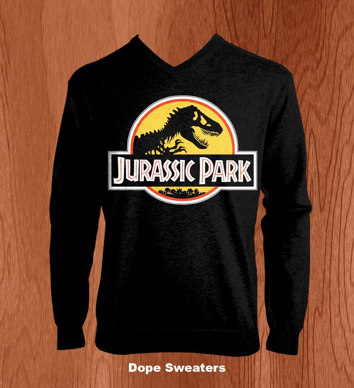 97831675 Jurassic Park Dope Sweaters, Jurassic World, Jurassic Park, Cute Jumpers,  Nerd Chic