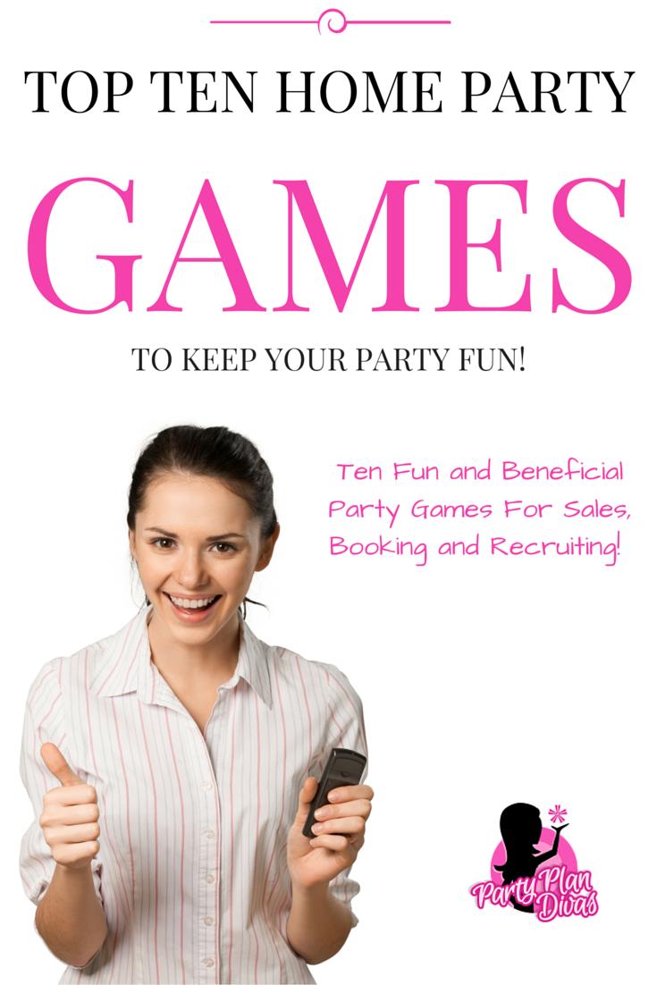 Fun Home Party Plan Games For Direct Sales Party Plan Divas