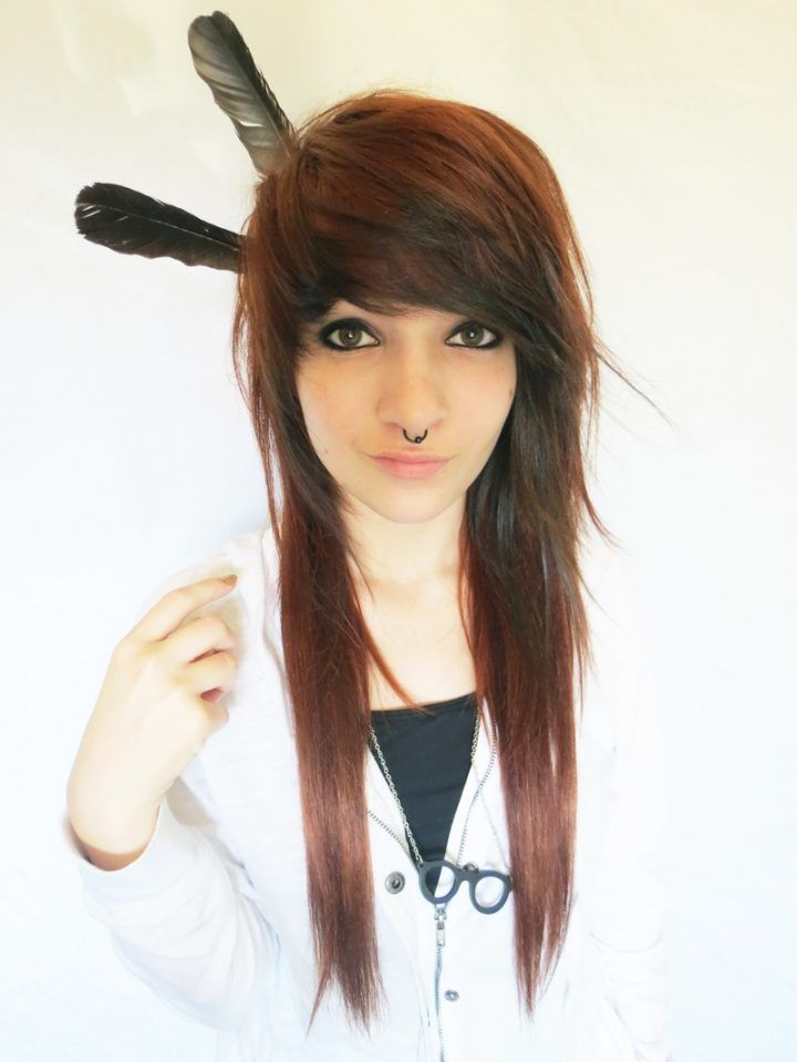 Frisuren Frauen Emo Frisuren Frauen Pinterest
