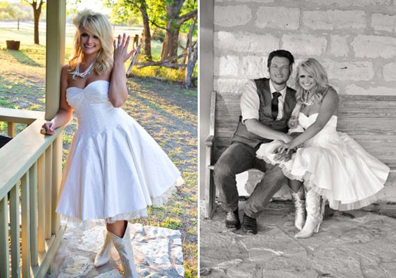 miranda lambert wore her mother s wedding dress at her texas wedding