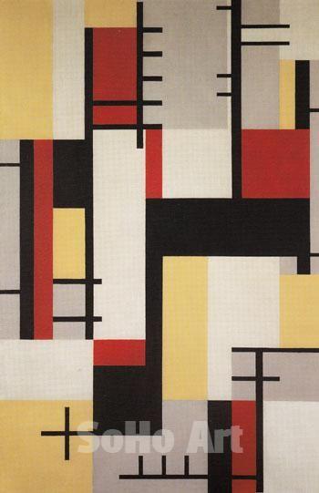 Jean Helion Orthogonal Composition c1929 - Oil Paintings ... Orthogonal Art