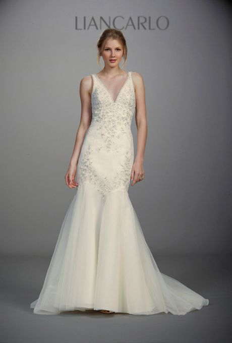 1920s-Inspired Wedding Dresses | Liancarlo wedding dresses, Wedding ...