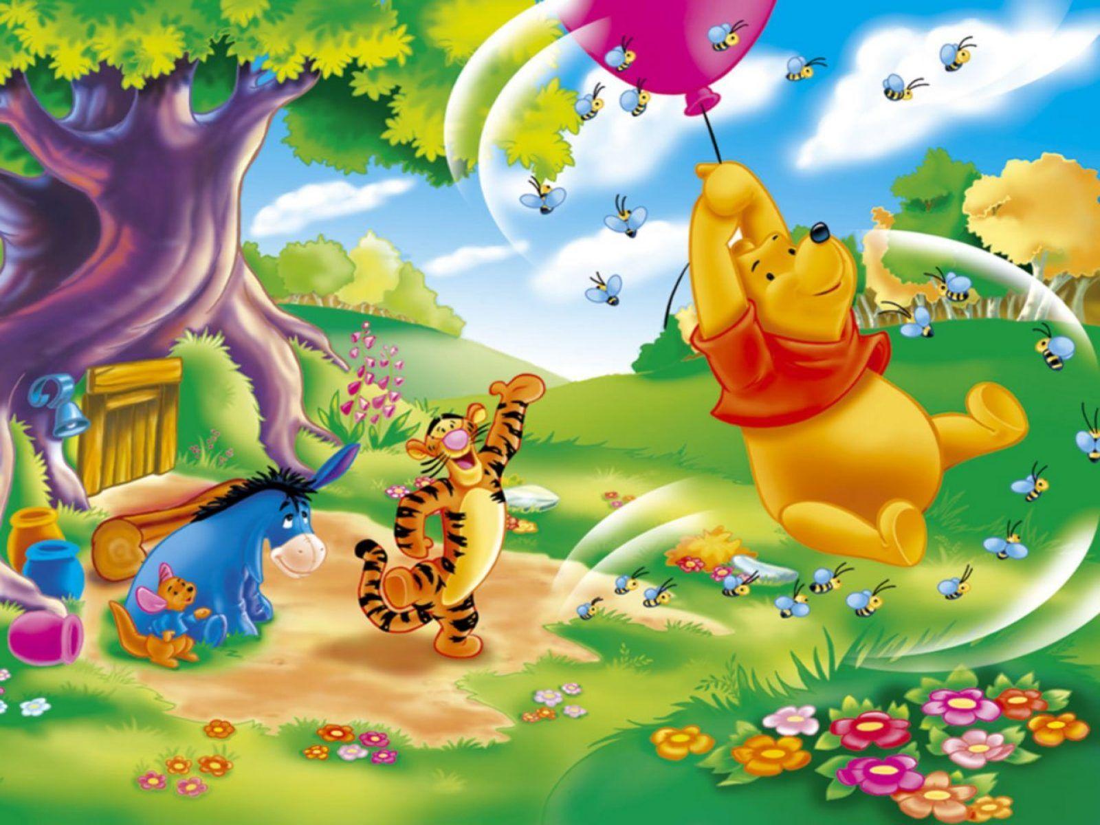 Fondo de Winnie the Pooh a resolución 1600x1200. Fondo de escritorio ...