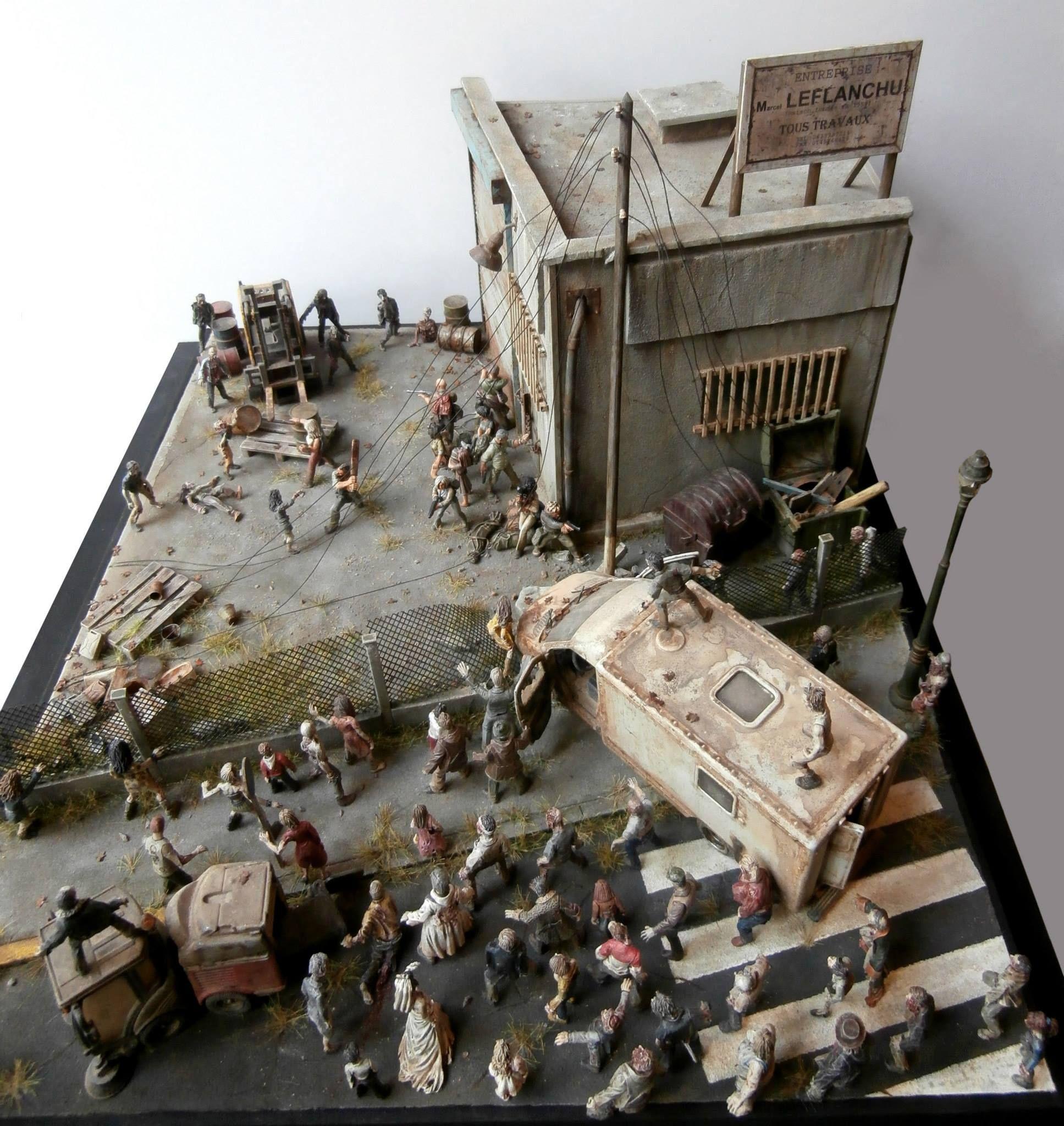 Zombies Painting Ww2
