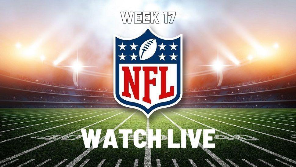 Watch Nfl Week 17 Live Stream Free Nfl Players Nfl Nfl Logo