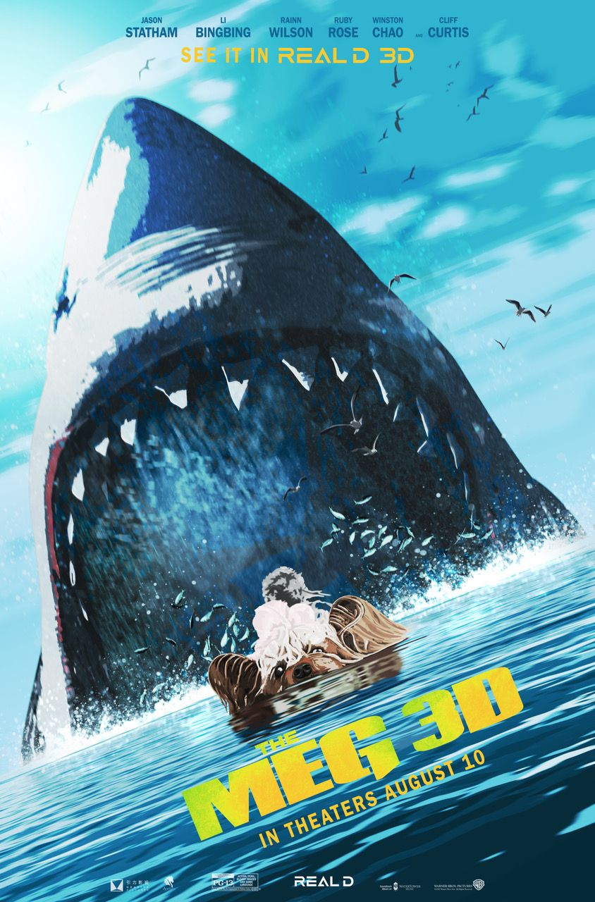 The Meg Meg Movie New Movie Posters Movie Posters
