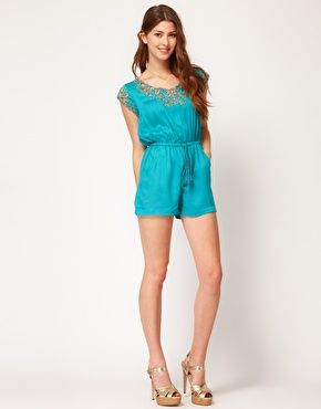 Frock And Frill Playsuit