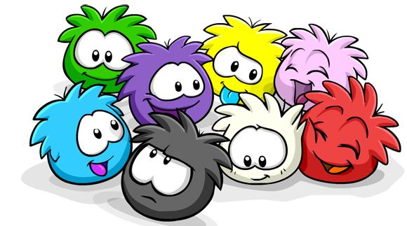 Check Out The New Rainbow Puffle From Club Penguin Club Penguin