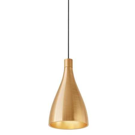 Swell Narrow Pendant Light - Brass | Brass pendant light ...