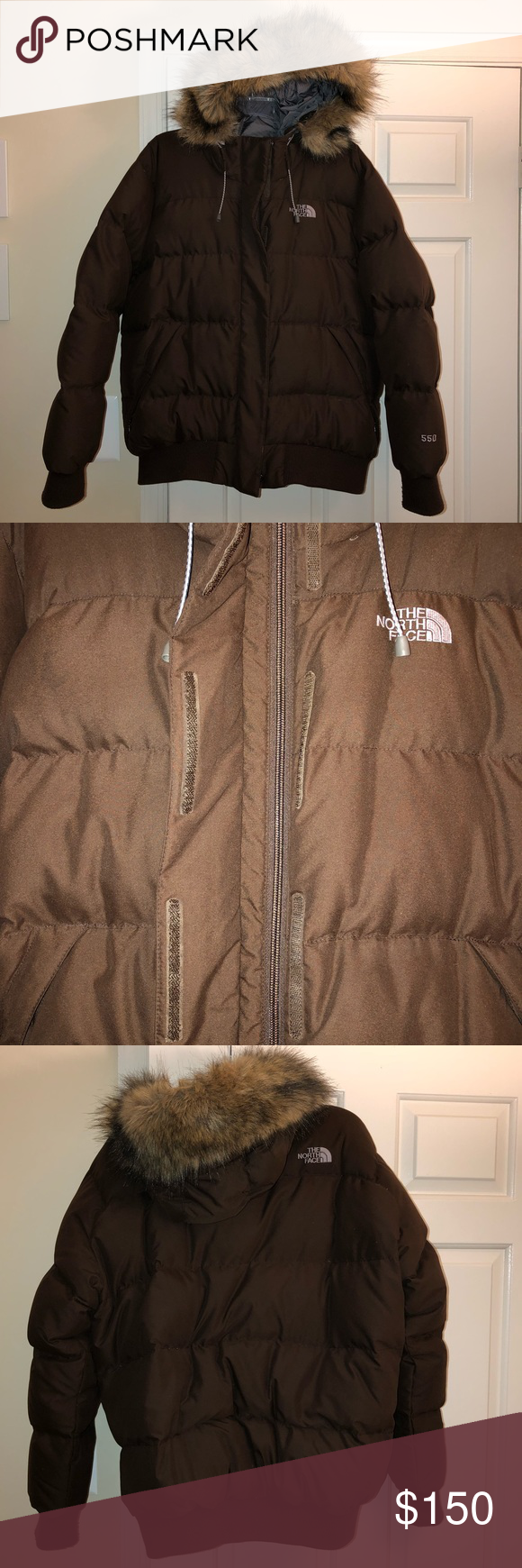 The North Face 550 Down Prodigy Puffer W Fur Hood Fur Hood The North Face Puffer [ 1740 x 580 Pixel ]