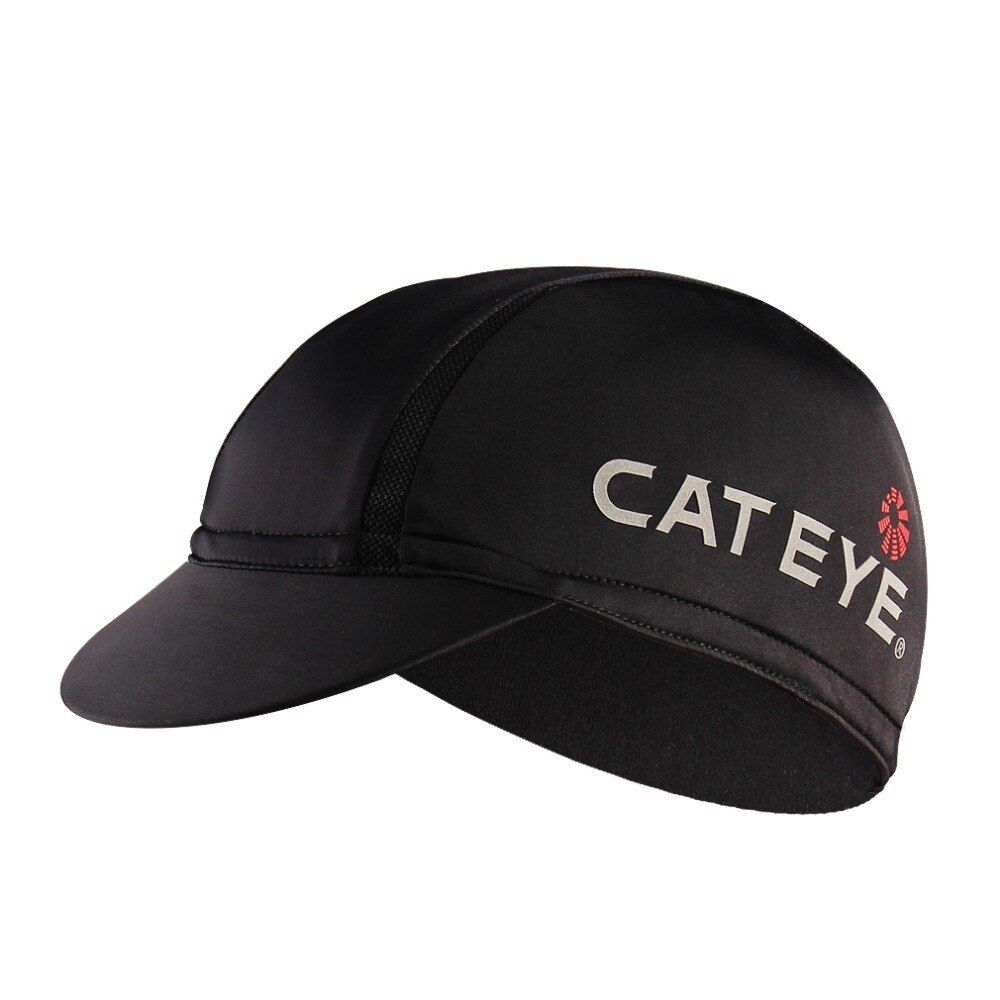 Cateye Cycling Cap Under Helmet Liner Hat Bicycle Visor Hat Riding Mtb Road Bike Headbands Black Sun Cap For Cycling Cate Helmet Liner Visor Hats Cycling Cap