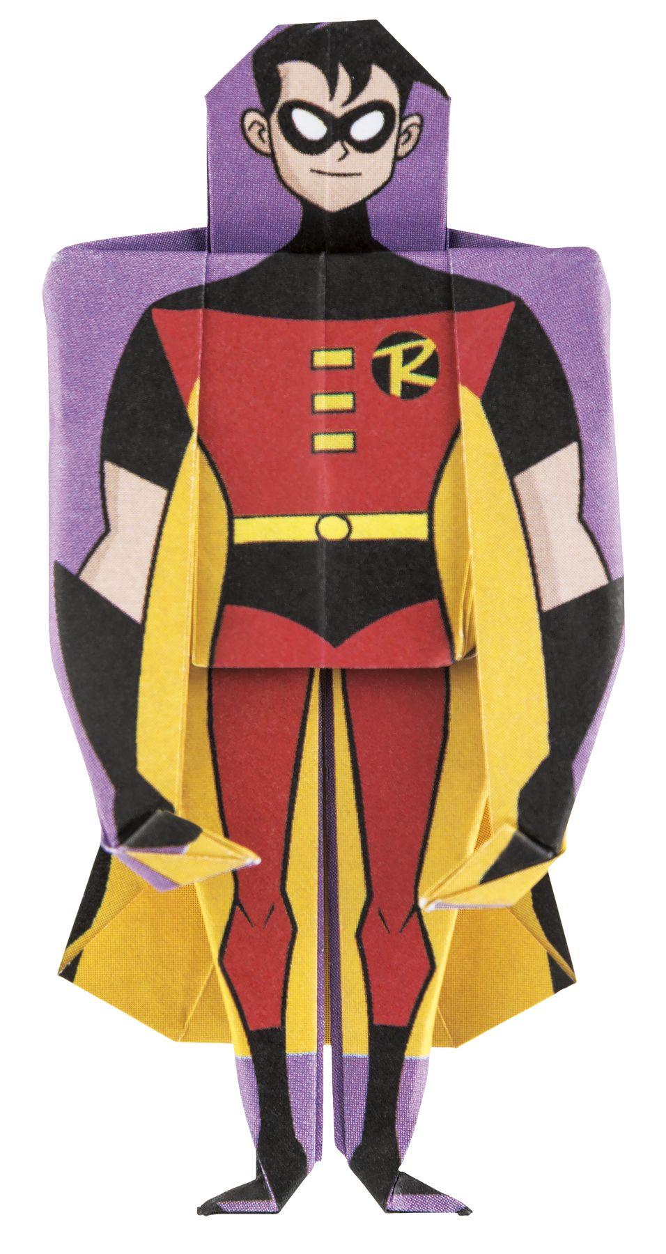 Batman S Favorite Sidekick Robin Looking Good In Paper Superhero Dc Superheroes Hero