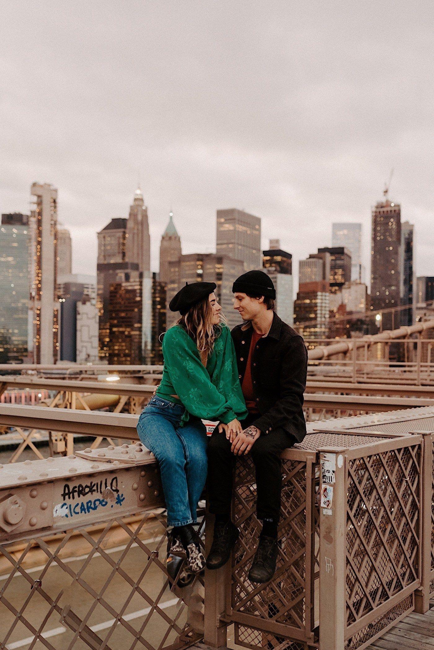 , Brooklyn Bridge Engagement Session | Cecilia+Braydon – Anais Possamai Photography, Travel Couple, Travel Couple