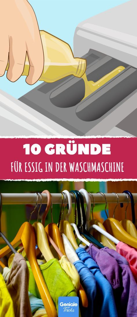 10 gr nde f r essig in der waschmaschine tipps und tricks pinterest life hacks lifehacks. Black Bedroom Furniture Sets. Home Design Ideas