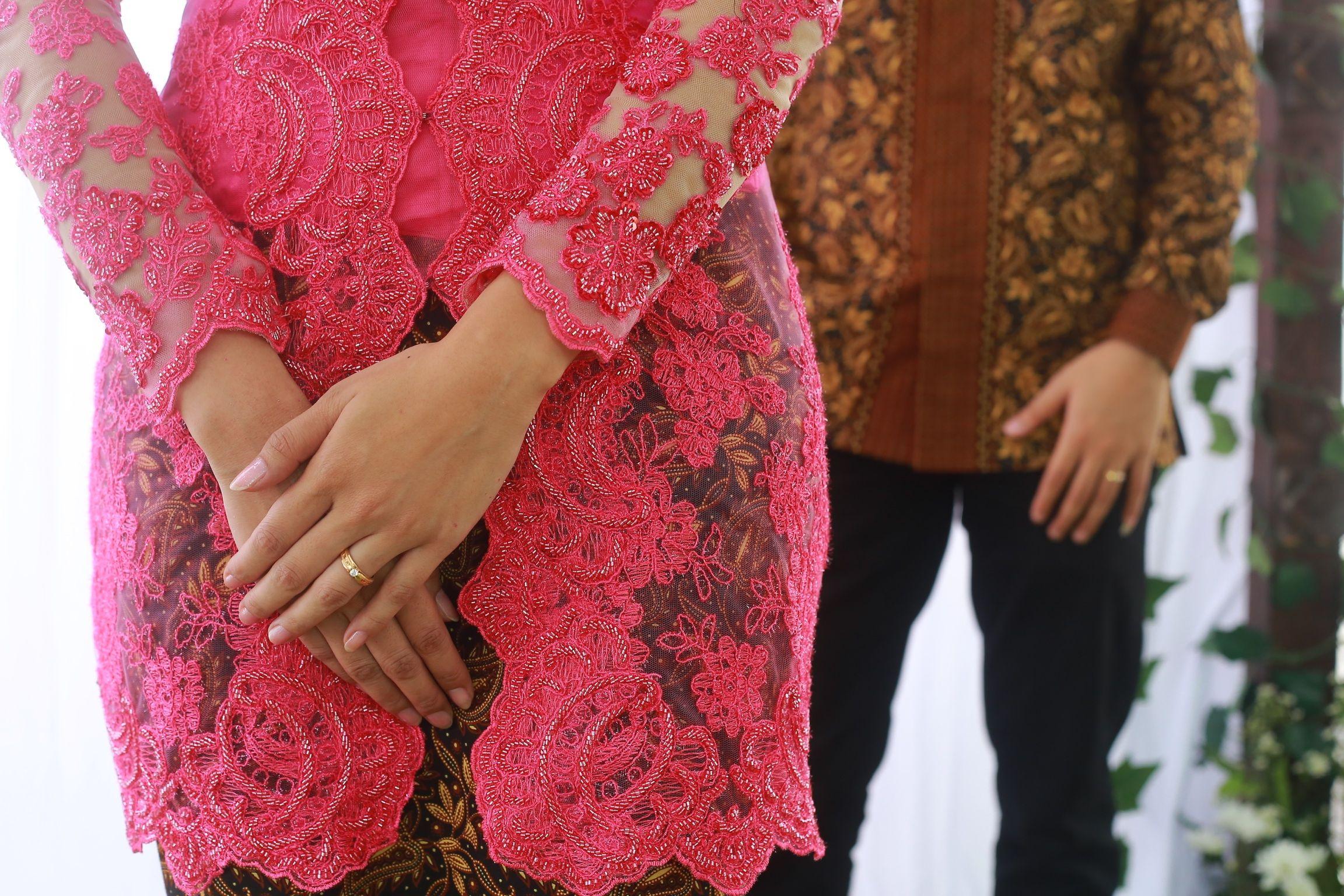 Pink Fanta Kebaya Kebaya Kebaya Lace Skirt Dan Dresses