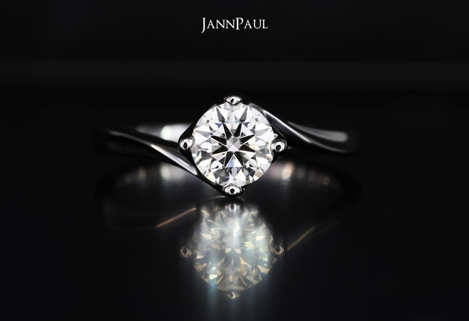 Jannpaul Singapore 0 61 E Vvs2 Wedding Engagement Rings Diamonds Engagement Rings Wedding Rings Rings
