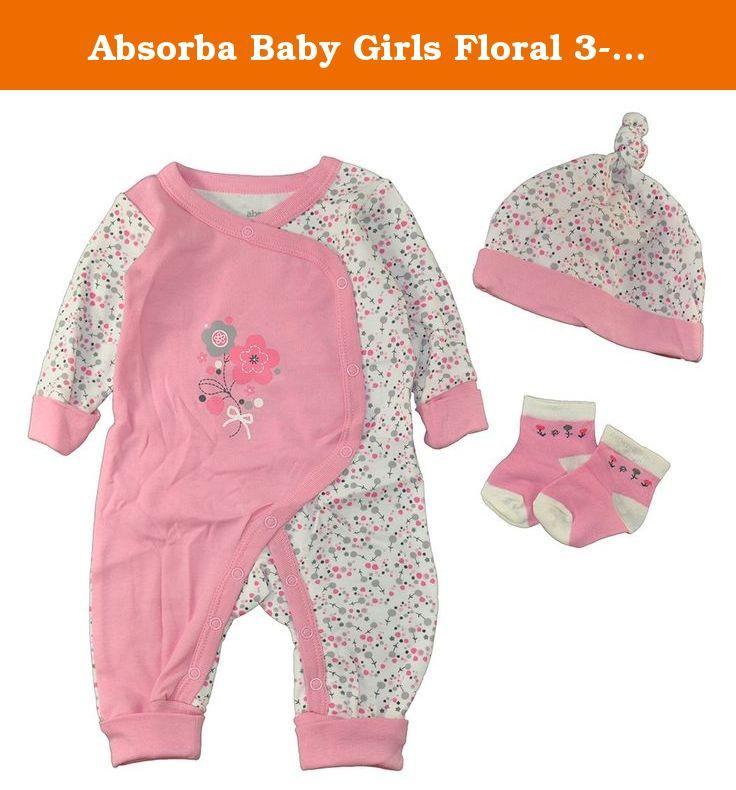 Absorba Baby Girls Romper