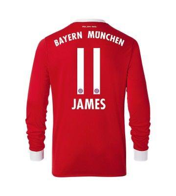 Maillot Domicile FC Bayern München James Rodríguez