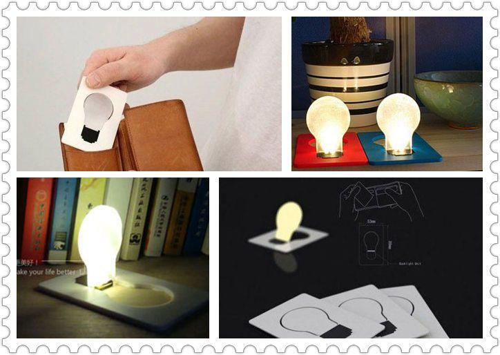 【送料無料】【即納】LEDカードライト  ポケットライト 携帯用 電球型 クリスマスツリー型 (光る、便利、LED、名刺サイズ、デザイン、コンパクト) 【0720otoku-f】【マラソン201211_日用品】【RCP】【RCP1209mara】|ROOM - my favorites, my shop 好きなモノを集めてお店を作る