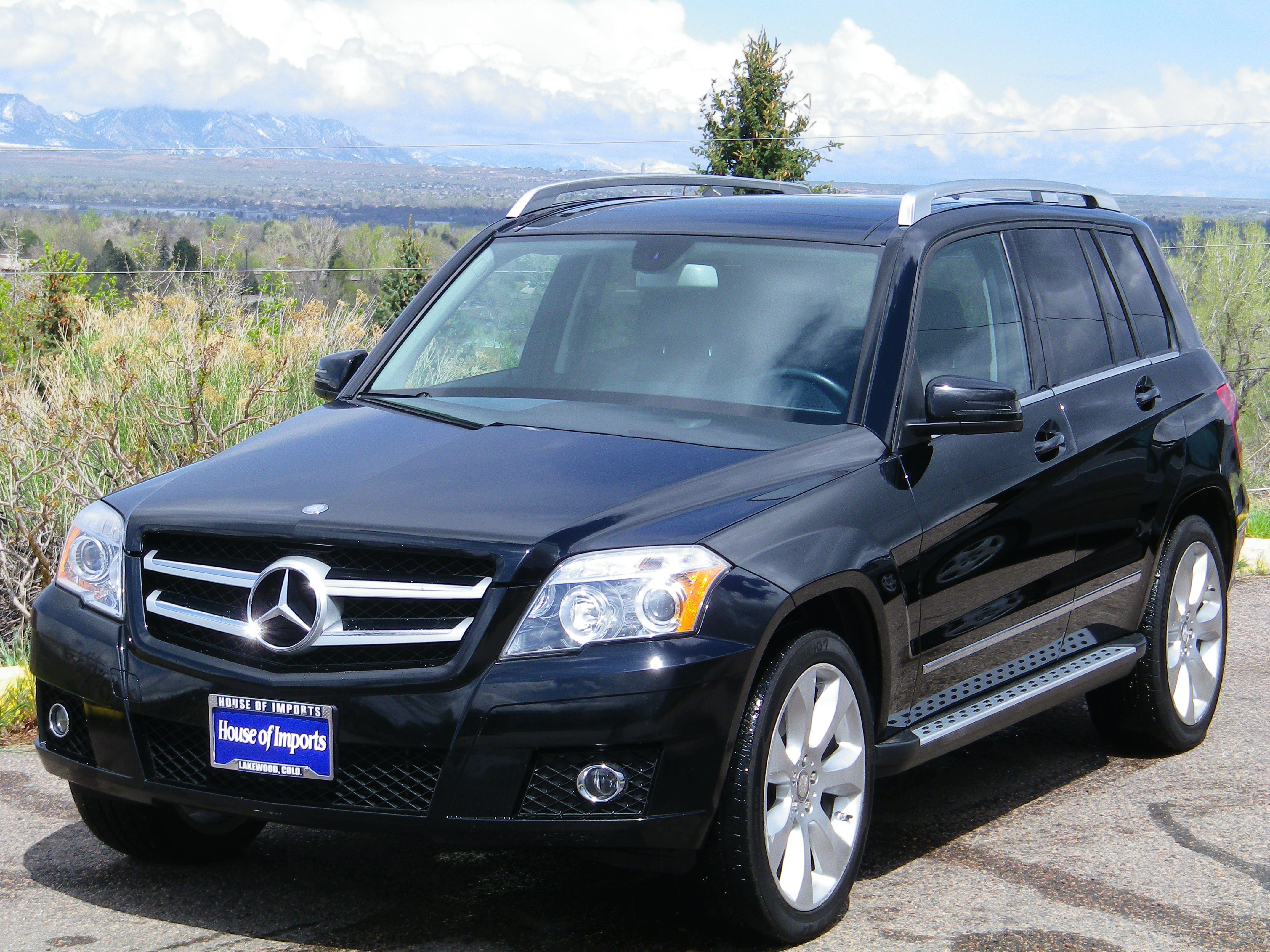 Marvelous 2010 Mercedes Benz GLK350 4 Matic Odometer: 55,695 V.I.N. #:  WDCGG8HB0AF322211 Stock #: C562 Exterior Color: Black Interior: Black House  Of Imports 9720 W ...