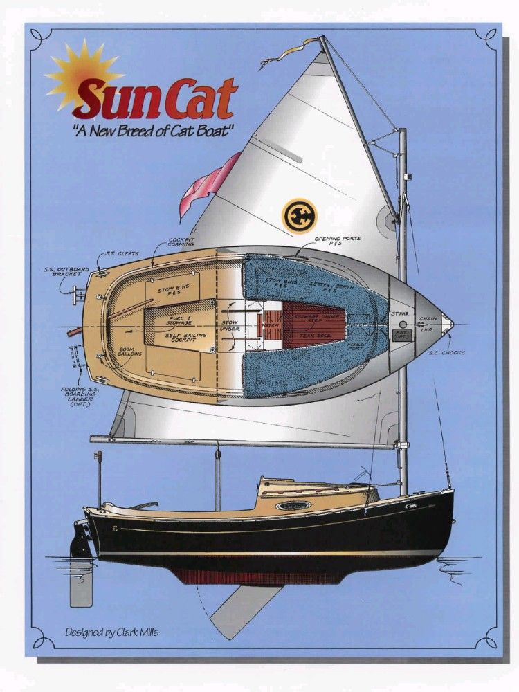 Compac Sun Cat | Boats | Boat, Boat cleats, Sailing ships
