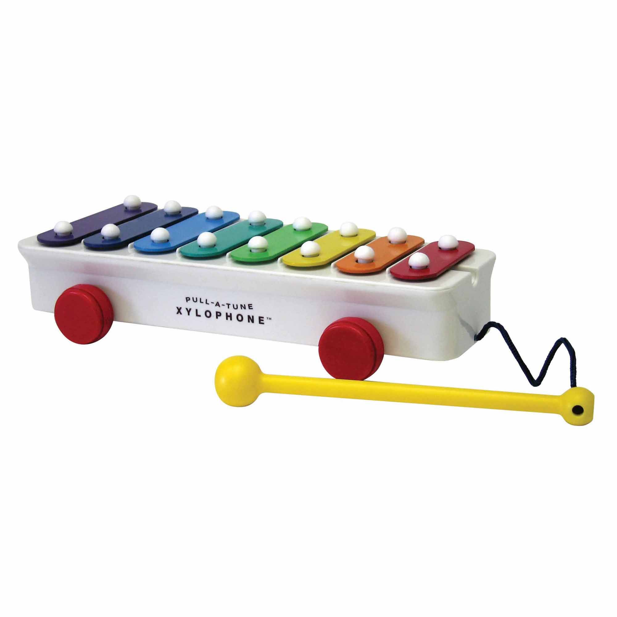 Play a colorful tune with the colorful Fischer Price Pull A Tune