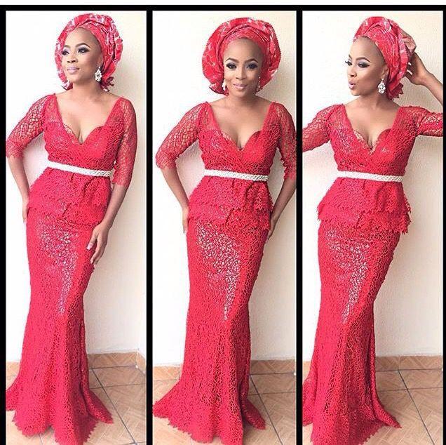 002646662c5bc Cord Lace Styles, Nigerian Traditional Attire, Latest Aso Ebi Styles, Aso  Ebi