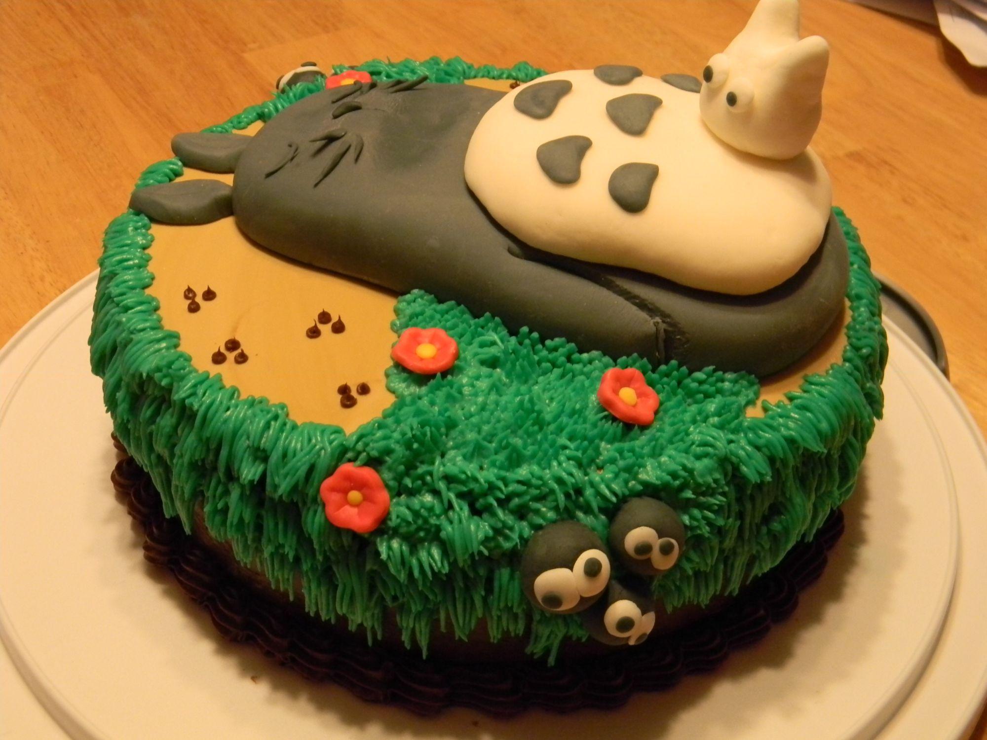 Anime Inspired Cakes Studio Ghibli